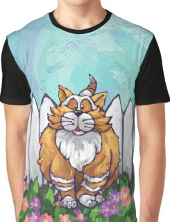 Animal Parade Ginger Cat Graphic T-Shirt