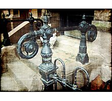 Hand Rail Photographic Print