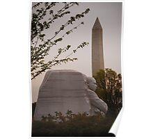 Dr. Martin Luther King, Jr. & Washington Monument Poster