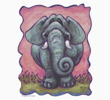 Animal Parade Elephant One Piece - Short Sleeve