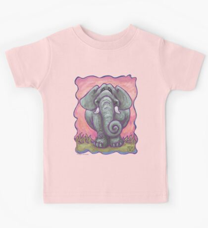 Animal Parade Elephant Kids Tee