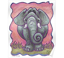 Animal Parade Elephant Poster
