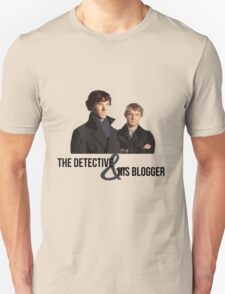 The Detective and his Blogger T-Shirt