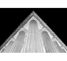 Lincoln Memorial - Corner Photographic Print