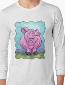 Animal Parade Pig Long Sleeve T-Shirt