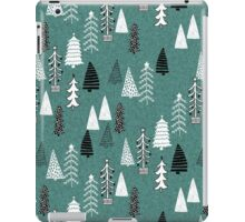 Christmas Forest - Evergreen by Andrea Lauren  iPad Case/Skin