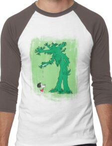The Giving Treebeard on Lime Men's Baseball ¾ T-Shirt