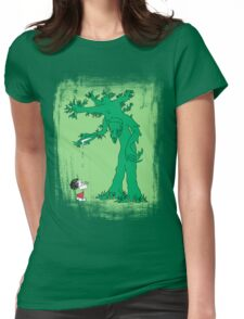 The Giving Treebeard on Lime T-Shirt