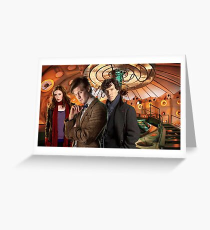 In the TARDIS Greeting Card