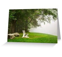 Peace and Quiet Landscape Art Greeting Card