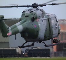 Westland Lynx(ZD278) Army Air Corp by Andy Jordan