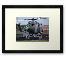Westland Lynx(ZD278) Army Air Corp Framed Print