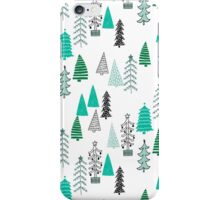 Christmas Forest - Light by Andrea Lauren  iPhone Case/Skin
