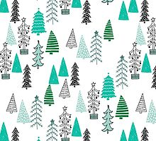 Christmas Forest - Light by Andrea Lauren  by Andrea Lauren