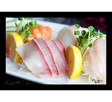 Sashimi Photographic Print