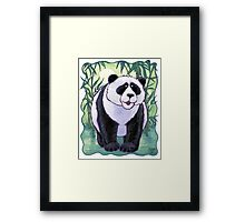 Animal Parade Panda Bear Framed Print