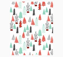Christmas Forest - Red and Green by Andrea Lauren  Classic T-Shirt