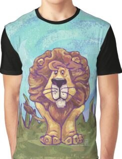 Animal Parade Lion Graphic T-Shirt