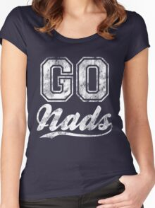 Go Nads Women's Fitted Scoop T-Shirt