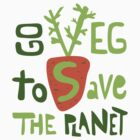 Go veg to save the planet by tashtee