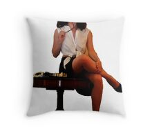 Geeky Pin-Up: Chess Throw Pillow
