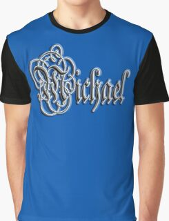 Michael, Name, Tag, 1990's, Mike, Mikey, Mick Graphic T-Shirt