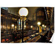 Gaslights In Gatton Church Poster