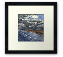 Misquamicut Beach, Rhode Island Framed Print