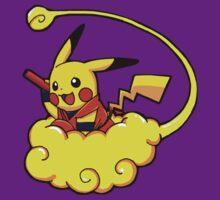 pikachu pokemon by selasaini
