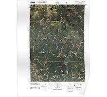 USGS Topo Map Washington State WA Bobs Mountain 20110503 TM Poster