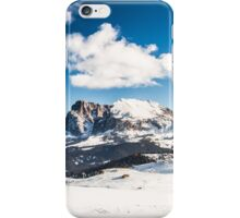 Italian Dolomiti ready for ski season iPhone Case/Skin