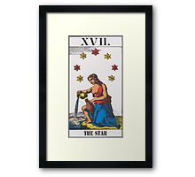The Star Tarot Framed Print
