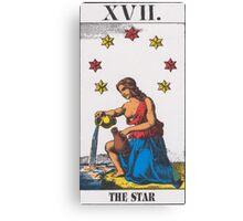 The Star Tarot Canvas Print