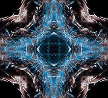 blu cross mandala by filippobassano