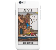The Tower Tarot iPhone Case/Skin