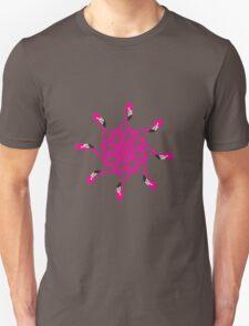 Flamingo Psychedelic Unisex T-Shirt