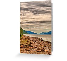 Loch Ness View Greeting Card