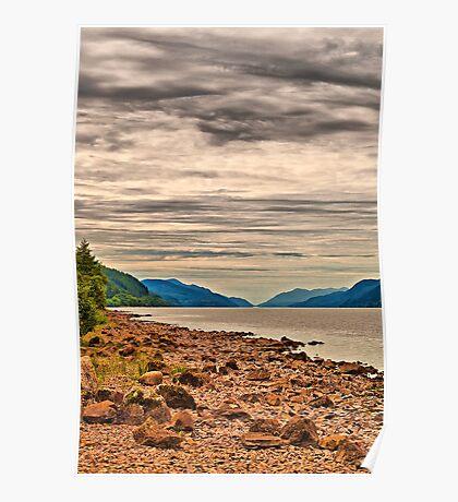 Loch Ness View Poster