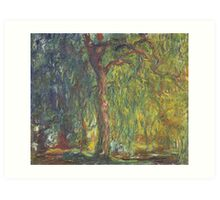 Weeping Willow by Claude Monet Art Print
