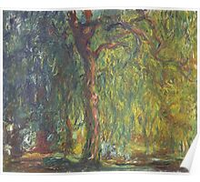 Weeping Willow by Claude Monet Poster