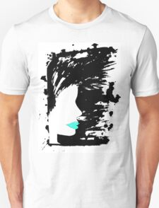 Blue Lippy. Unisex T-Shirt