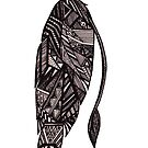 Tribal Feather by samclaire