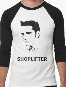 The Smiths Shoplifter Elvis Morrissey Cartoon Men's Baseball ¾ T-Shirt
