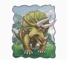 Animal Parade Triceratops Kids Tee