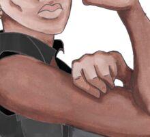 Fight Like a Girl (Words) Sticker