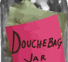 Douchebag Jar - New Girl by annamacijeski