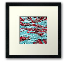 abstract abnormality rb Framed Print