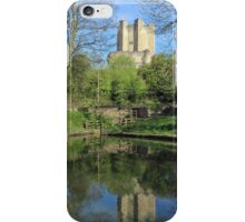 Conisbrough Castle Reflections  iPhone Case/Skin
