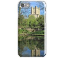Conisbrough Castle Reflections  iPhone Case/Skin