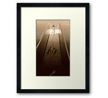 Sputnik scape Framed Print
